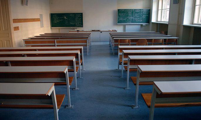 Symbolbild: Hörsaal an der Uni Wien