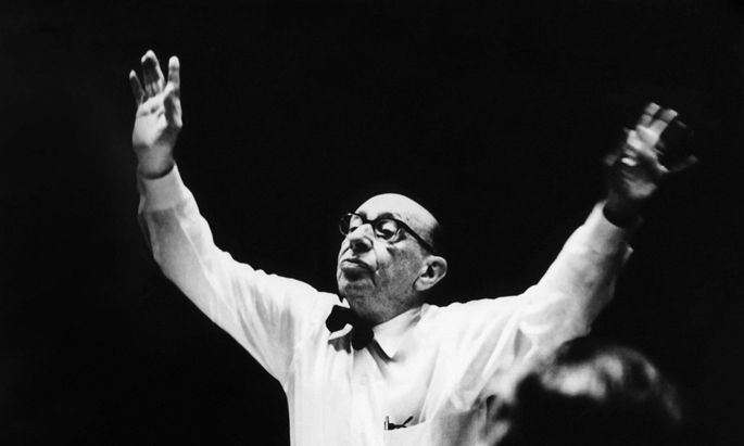 """""""Der Dirigent verdient viel mehr als der Komponist"""" (Igor Strawinsky zu Robert Craft)."""