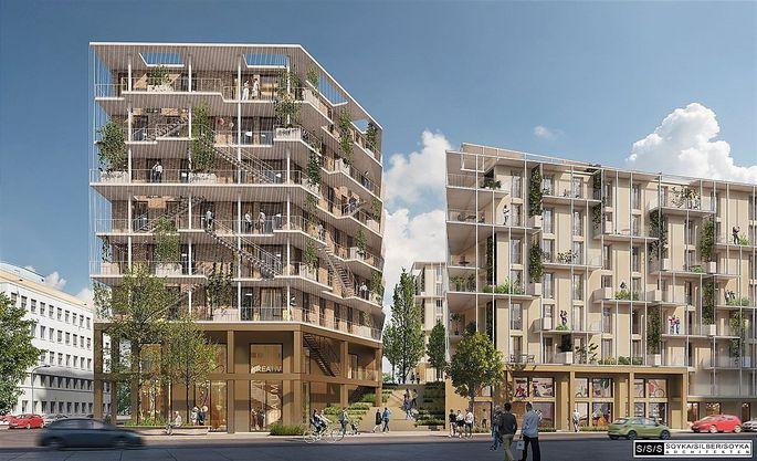 """""""Produktive Stadt"""": Wien bekommt das erste urbane Plus-Energie-Quartier Österreichs."""