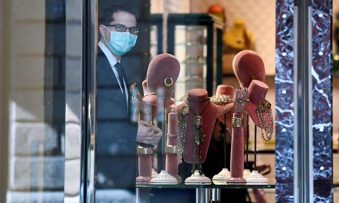 Das Geschäftsleben in Italien kommt wegen des Coronavirus zum Erliegen