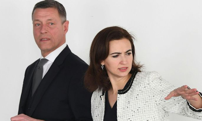 Ministerin Alma Zadić dürfte ihrem Sektionschef nun nicht mehr vertrauen.