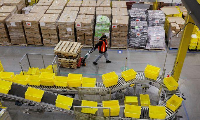 Auslieferungslager von Amazon