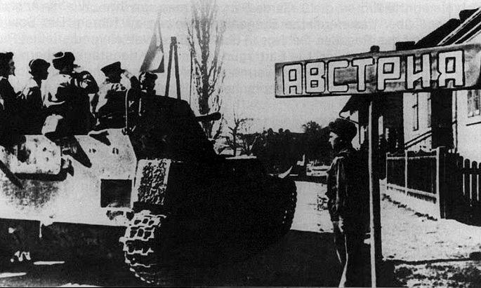 1945 : DIE ALLIIERTEN ERREICHEN OESTERREICH