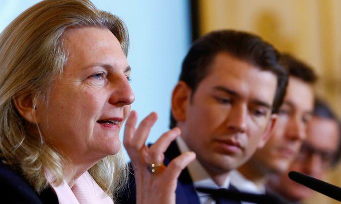 Kanzler Sebastian Kurz erklärt die Zurückhaltung mit der Neutralität Österreichs.