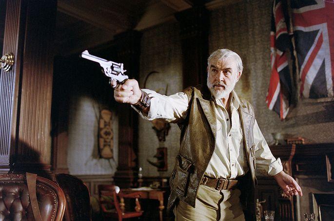 """Anders als die Mitglieder der """"Liga der außergewöhnlichen Gentlemen"""" im gleichnamigen Film – im Bild Sean Connery als Allan Quatermain –, benötigen außergewöhnliche Führungskräfte keinen Revolver, um erfolgreich zu sein."""