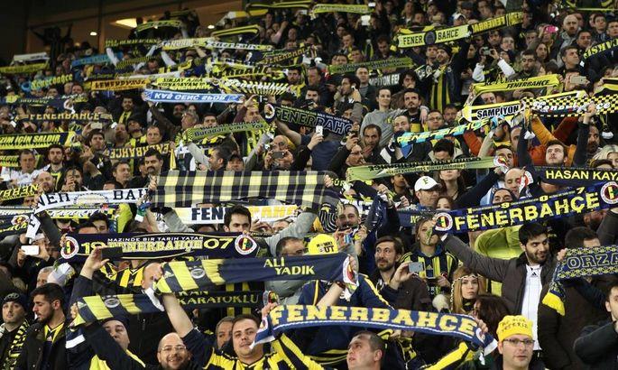 Turkey super league derby match between Fenerbahce and Besiktas at Sukru Saracoglu Stadium in Istanb