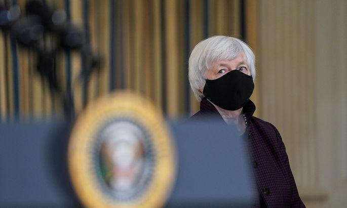 U.S. President Biden speaks about the economy and need to pass coronavirus aid legislation at the White House in Washington