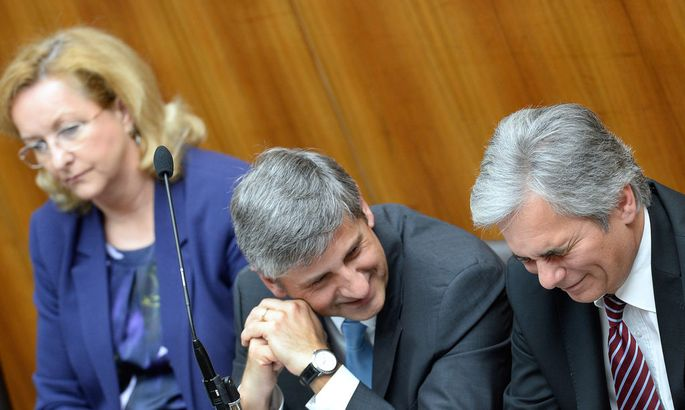 NATIONALRAT: FAYMANN/SPINDELEGGER/FEKTER