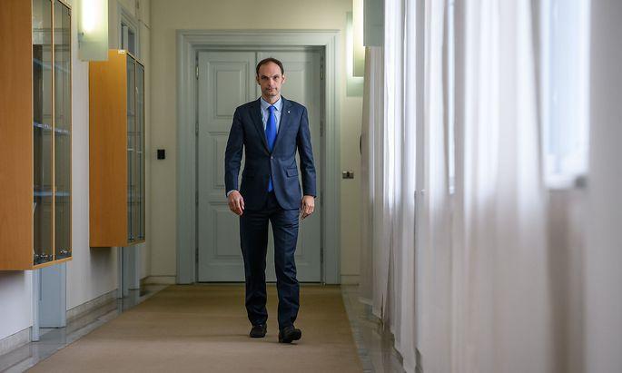 Anže Logar (geb. am 15.Mai 1976) ist seit März Sloweniens Außenminister.
