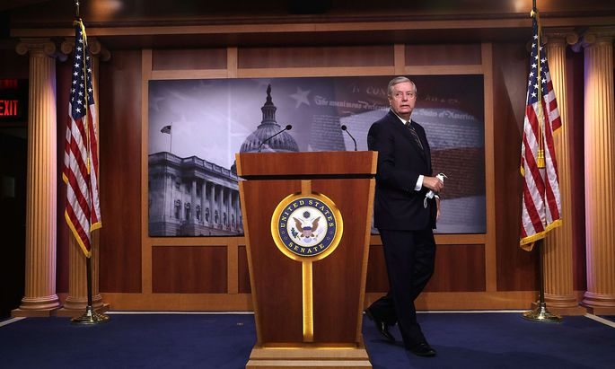 US-SEN.-LINDSEY-GRAHAM-(R-SC)-HOLDS-A-NEWS-CONFERENCE-ON-YESTERD