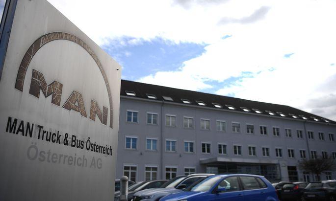 Im MAN-Werk in Steyr findet heute, Mittwoch, hinter verschlossenen Türen eine Betriebsversammlung statt