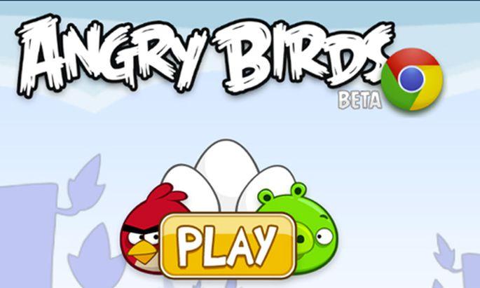 Google Chrome Angry Birds