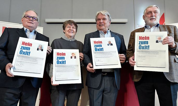Neue Mitstreiter für Haselsteiners Anti-Hofer-Kampagne