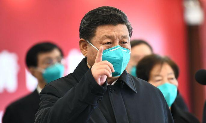 In China konnte mit Maskenpflicht die Ausbreitung des Coronavirus eingedämmt werden
