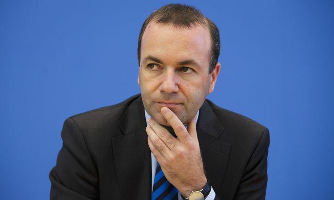"""CSU-Vizechef Manfred Weber: """"Wir werden die Obergrenze durchsetzen."""""""