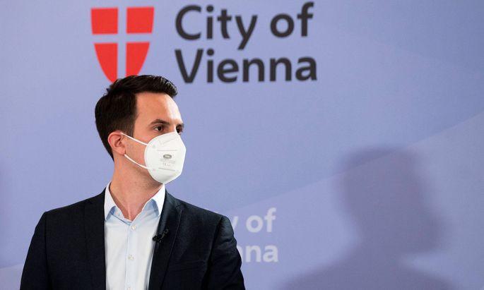 Der Wiener Vizebürgermeister und Neos-Chef Christoph Wiederkehr