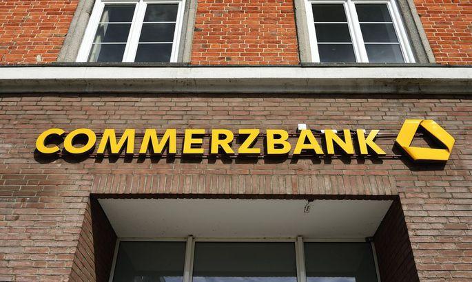 Filiale der Commerzbank in Hamburg