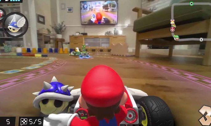 Mario Kart im Wohnzimmer? Das klingt lustig – und ist es auch!