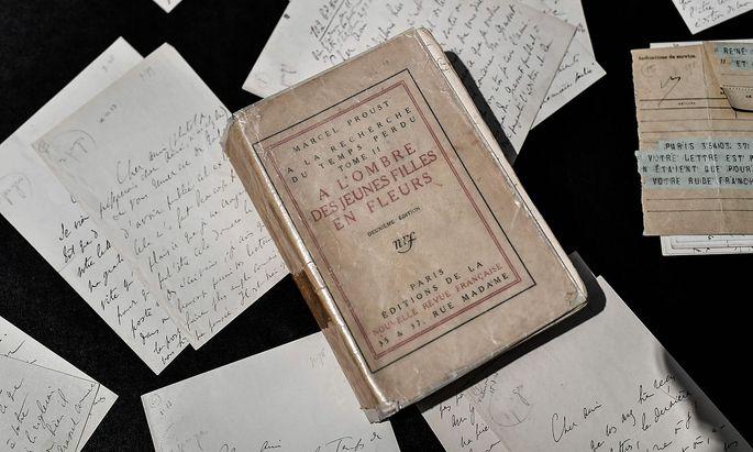 Andere (Hand-)Schriften von Proust wurden kürzlich versteigert.