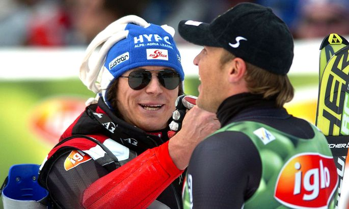 Rainer Schönfelder und Hermann Maier, 2005