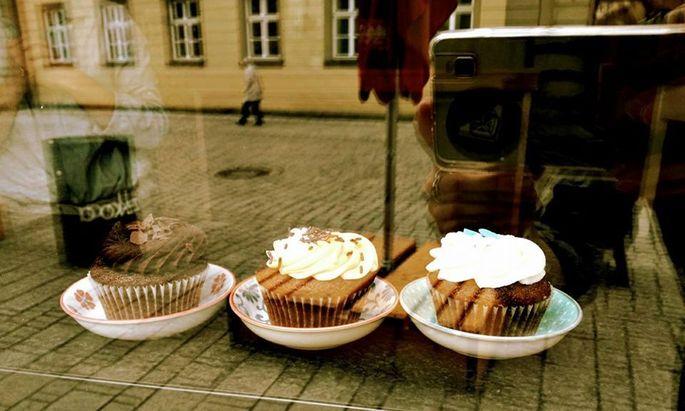 Nicht nur für in Franken gestrandete Nordlichter gibt es im Heimathafen Astrabier und Cupcakes.