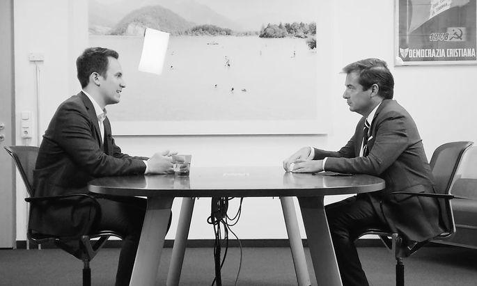 Christoph Wiederkehr im Gespräch mit Rainer Nowak