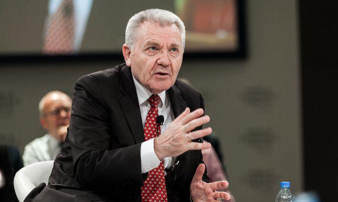 Der ehemalige ERC-Präsident Jean-Pierre Bourguignon.