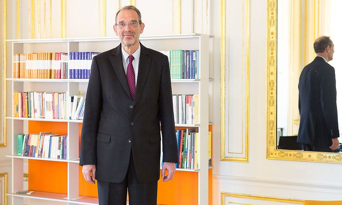 Der neue Bildungsminister Heinz Faßmann.