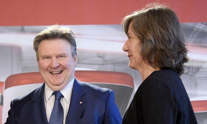 Bürgermeister Michael Ludwig und Vizebürgermeisterin Birgit Hebein.