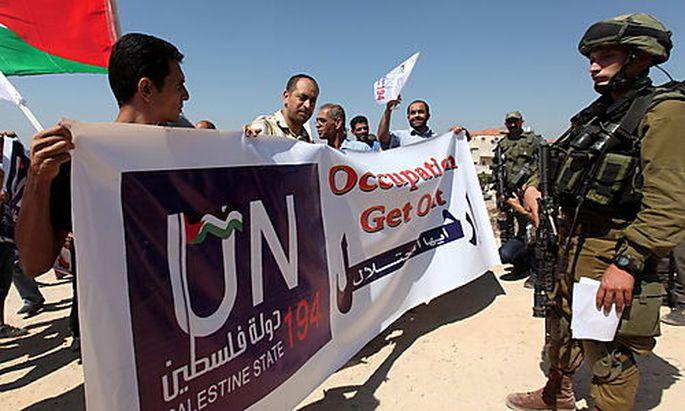 Palästinenser-Vorstoß: 'Die Hölle ist losgebrochen'