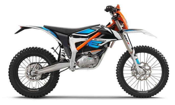 KTM hat mit der Freeride-E eine elektrische Motocross im Angebot