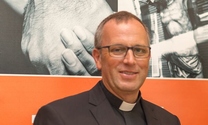 Von Innsbruck nach Klagenfurt – als Diözesanbischof? Der Tiroler Bischofsvikar Jakob Bürgler (52).