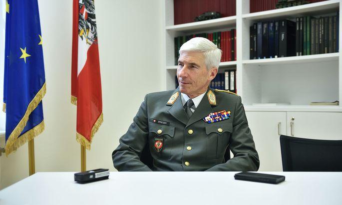 Der Generalstabschef des Bundesheeres, Robert Brieger