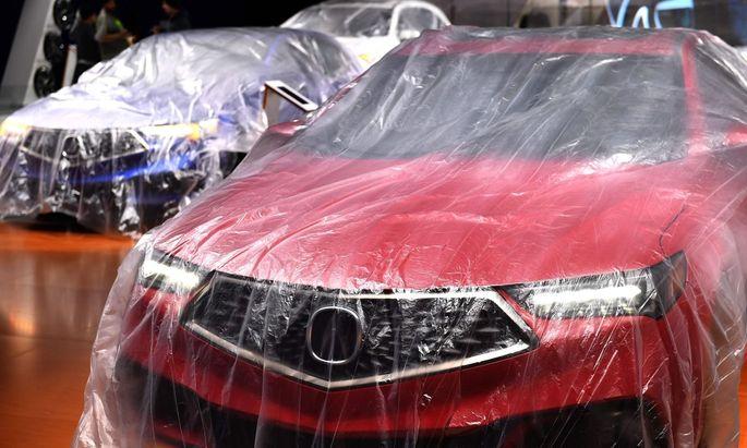 """Bei der """"North American International Auto Show"""" werden neue Wägen vorgestellt"""