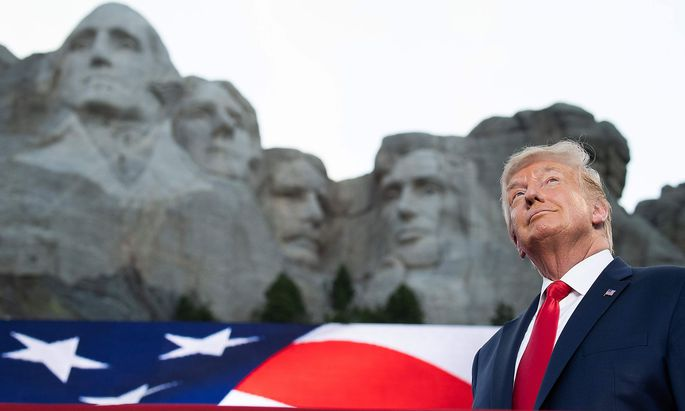 Trump: Verewigung am Mount Rushmore klingt nach 'guter Idee'