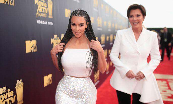 Kim Kardashian und ihre Mutter Kris