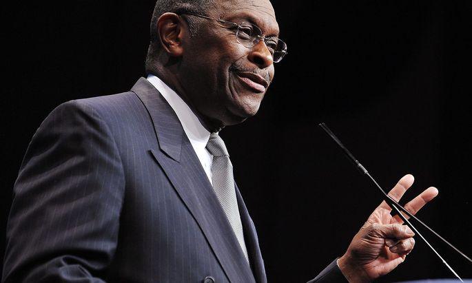 """Bezeichnete sich stets als """"ABC-Man"""": Herman Cain galt als """"American Black Conservative""""."""