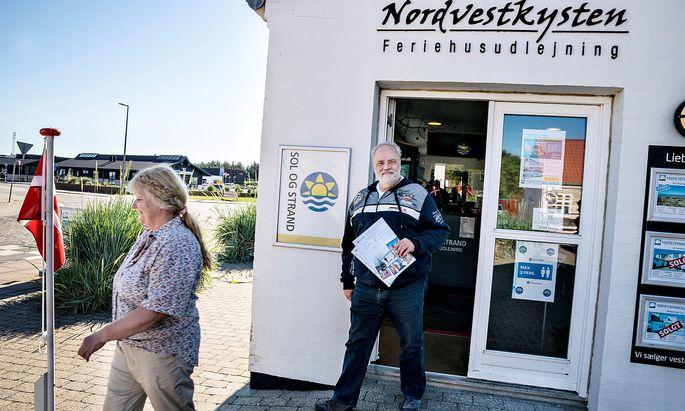 Sonne und Strand in den dänischen Dünen? Deutsche dürfen in Dänemark bereits Ferienhäuschen mieten, Österreicher nicht.