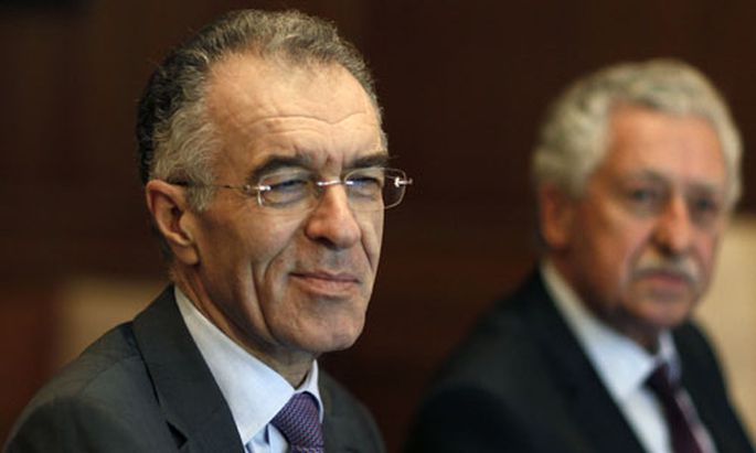 Finanzminister Vasilis Rapanos