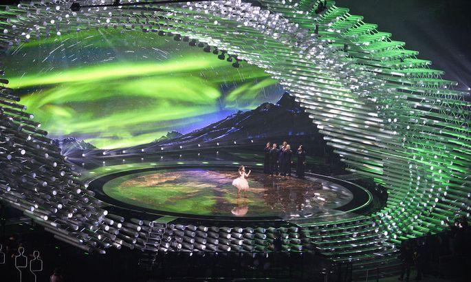 EUROVISION SONG CONTEST 2015: PROBE ISLAND/MARIA OLAFS