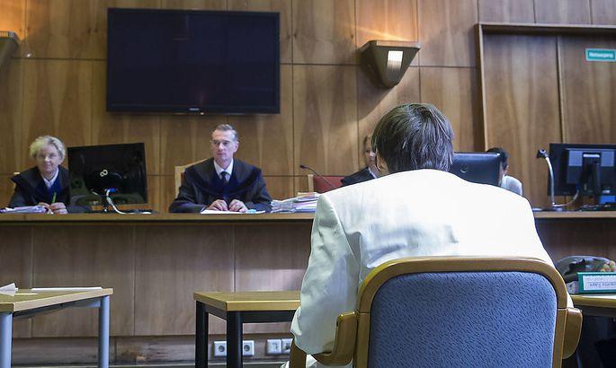 Archivbild: Alen R. am Dienstag vor Gericht