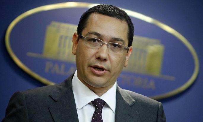 Victor Ponta Einen Praesidenten