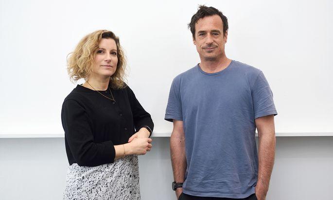 Marion Mayr und Philipp Horak.