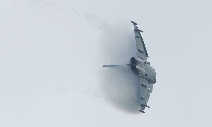 Das Straflandesgericht Wien hat die Ermittlungen gegen Eurofighter eingestellt. Im Bild ein Eurofighter der deutschen Bundeswehr.