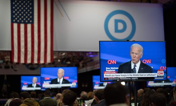 Joe Biden spielt seine außenpolitische Expertise aus.