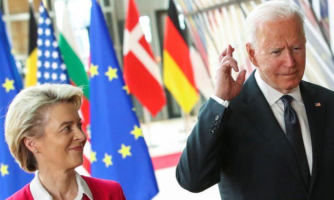 EU-US summit in Brussels
