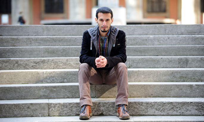 Nur El-din El-Rez hat Physik im syrischen Homs studiert. Heute lernt er an der TU Graz.