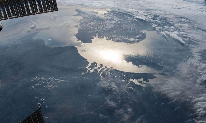 Wo heute das Wasser die Sonne spiegelt, kam man einst trockenen Fußes von Dänemark nach England.