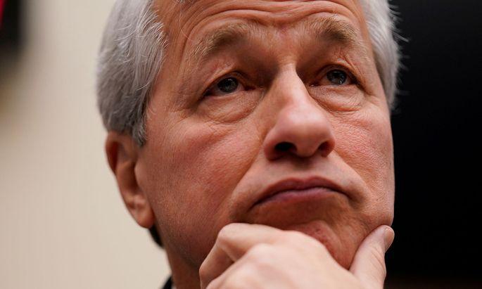JP-Morgan-Boss James Dimon bleibt trotz guter Zahlen skeptisch.