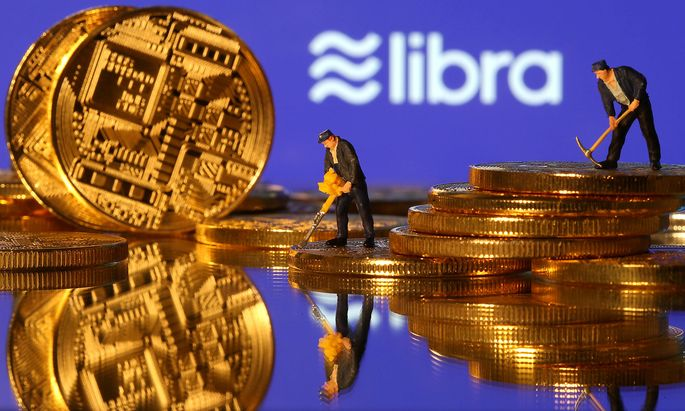 FILE PHOTO: Libra logo in illustration picture